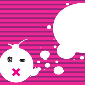 Bubble Banner - Free vector #211309
