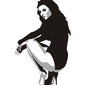 Beauty Girl - vector #211349 gratis