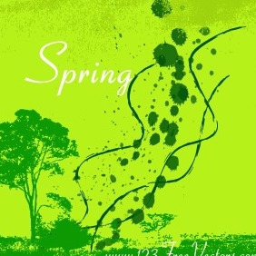 Spring Vector Background - Free vector #211419