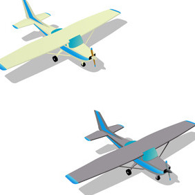 CESSNA PLANE FREE VECTOR - Free vector #211439