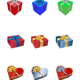 Gift Presents Vector - vector #211569 gratis