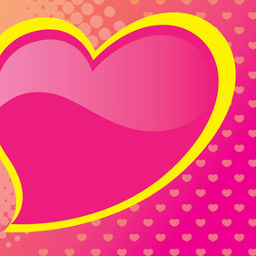 Heart Card - vector #211629 gratis