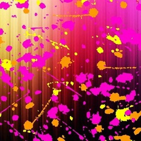 Paint Splash - vector gratuit #211749