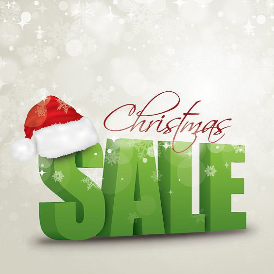 Christmas Sale - Free vector #211789