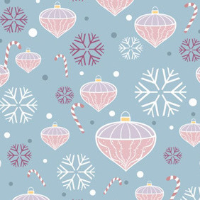 Christmas Seamless Pattern - vector #211879 gratis