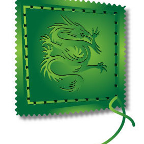 Dragon Stitch - vector #211899 gratis