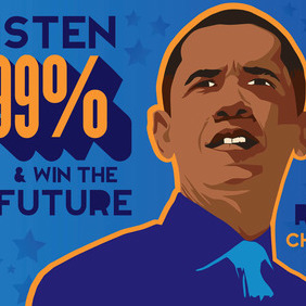 Obama Graphics - vector gratuit #212069