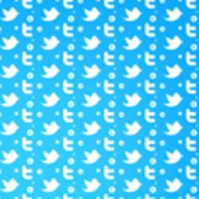 Twitter Seamless Photoshop And Illustrator Pattern - vector gratuit #212089