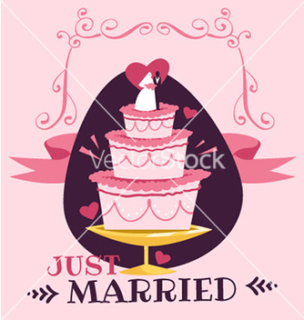 Free wedding day design vector - Free vector #212099
