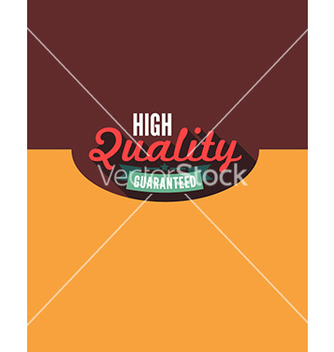 Free high quality guaranteed flat concept vector - Free vector #212139