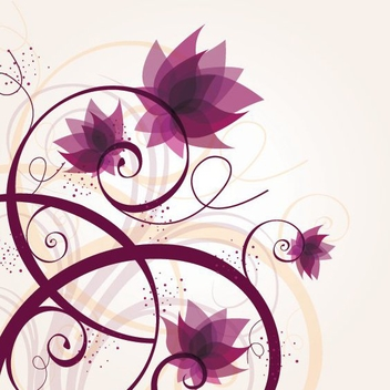 Lost Flowers - vector #212159 gratis