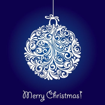 Christmas Ball - vector gratuit #212179