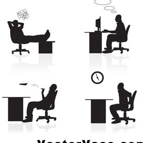 Vector Office People - Kostenloses vector #212369