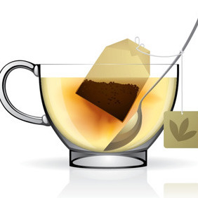 Vector Cup Of Tea - vector gratuit #212389