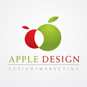 Apple Design - vector gratuit #212399