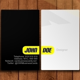 Simple Business Card - vector gratuit #212729