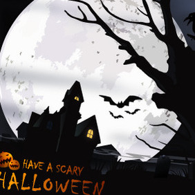 Scary Halloween - vector gratuit #212769