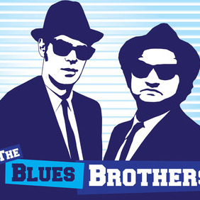 Blues Brothers - vector gratuit #212789