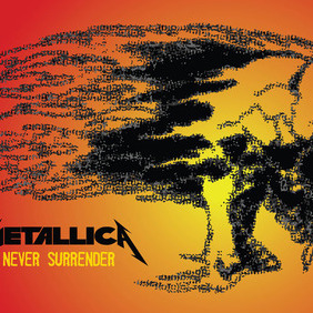 Metallica Graphics - vector #212849 gratis
