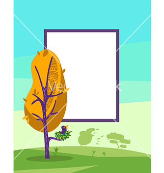 Free with tree vector - Kostenloses vector #212879