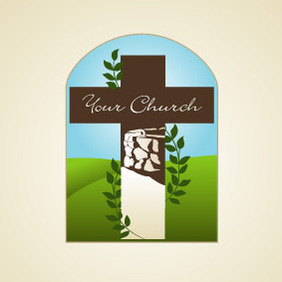 Your Church 2 - vector gratuit #212919