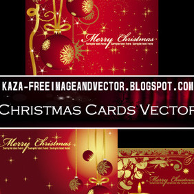 Christmas Cards Free Vector - бесплатный vector #212939