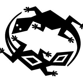 Lizards Game Vector - Free vector #213009