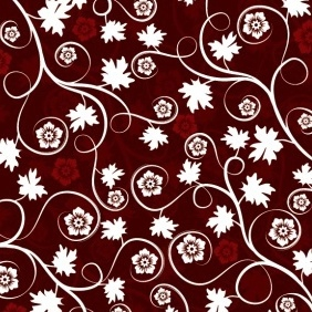 Dark Floral Background - Kostenloses vector #213189