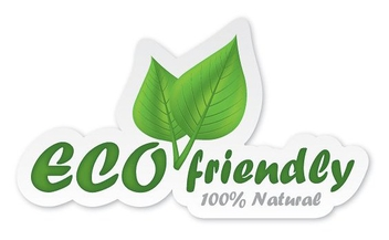 Eco Friendly Sticker - vector #213259 gratis