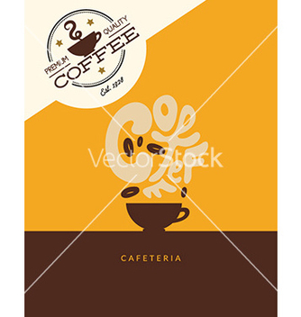Free abstract coffee vector - vector gratuit #213439