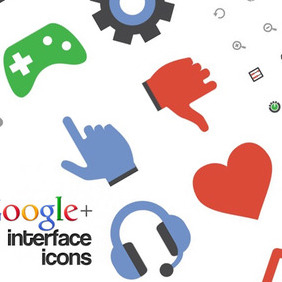 Google Plus Free Interface Icons - vector #213529 gratis
