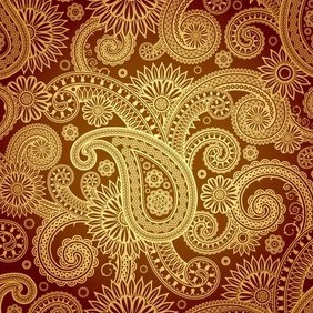 Damask Background - vector #213759 gratis