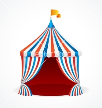 Free circus tent vector - Free vector #214039
