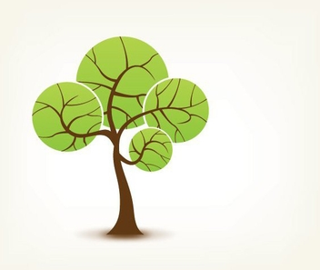 Spring Tree - vector #214069 gratis