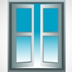Open Window - vector gratuit #214409