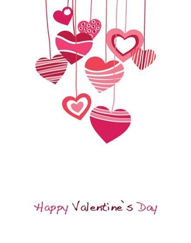 Happy Valentines Day - vector gratuit #214489