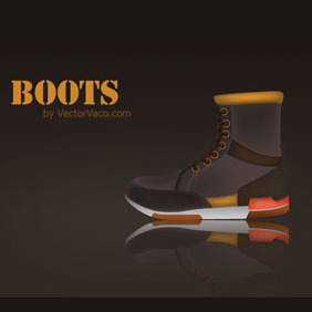 Vector Boots - Free vector #214679