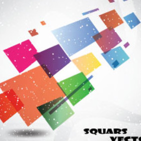 Abstract Squars Vector Free Graphic Art - Free vector #214729