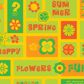 Flowers Clip Art - Free vector #214739