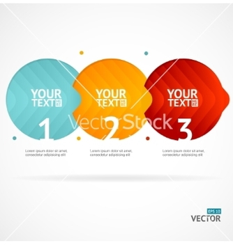 Free option banner infographic concept empty vector - Free vector #214769