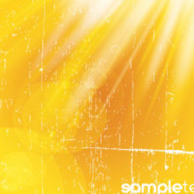 Grungy Golden Background Free Vector Graphic - vector #215109 gratis
