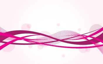 Pinky Waves - vector #215579 gratis