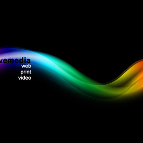 Abstract Colorful Waves - бесплатный vector #215699