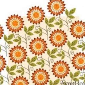 Free Flower Vector Background2 - Kostenloses vector #215709