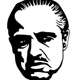 Godfather Brando Vector - vector #215979 gratis