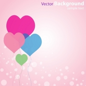 Abstract Love Background - Free vector #216239