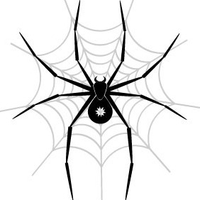 Spider Vector Art - Free vector #216609