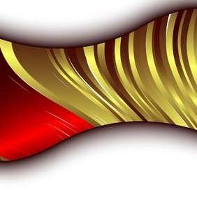 Abstract Golden Design Element - vector #216819 gratis