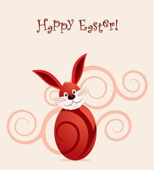Happy Easter Vector - Kostenloses vector #216839