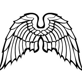 Wings Vector Image VP - Free vector #216889